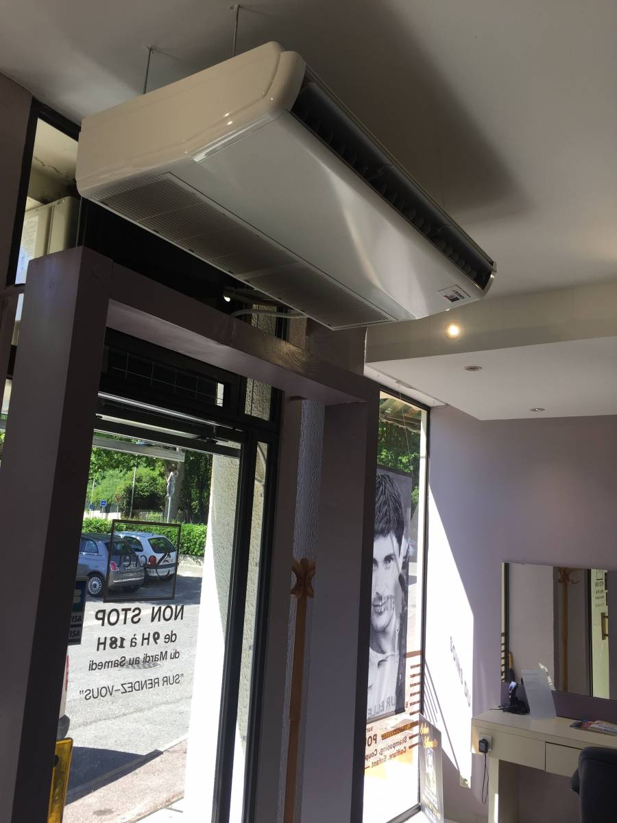 faire installer climatisation pour salon de coiffure marseille axiome 13. Black Bedroom Furniture Sets. Home Design Ideas