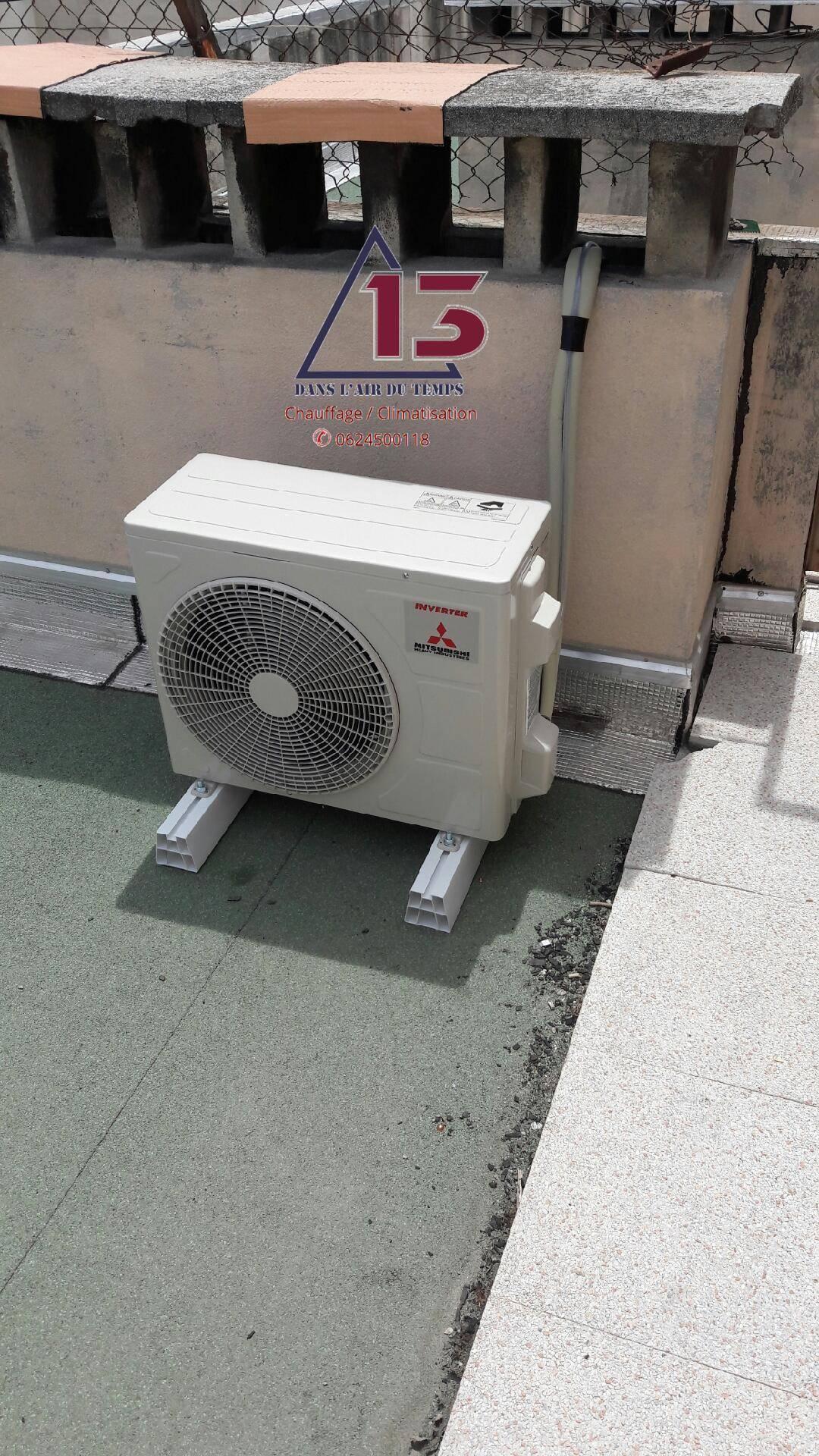 faire poser une climatisation marseille sur un toit plat axiome 13. Black Bedroom Furniture Sets. Home Design Ideas